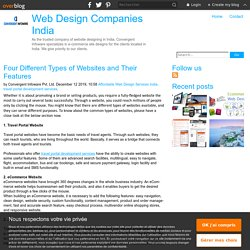 Four Different Types of Websites and Their Features