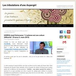 """[VIDÉO] Josef Schovanec """"L'autisme est une culture différente"""" (France 5, mars 2015)"""