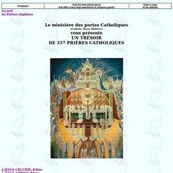 Un trésor de 357 prières catholiques [catholicdoors.com]