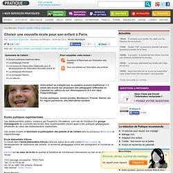 Ecoles différentes pour son enfant : choisir un mode d'enseignement différent à Paris - Scolarité