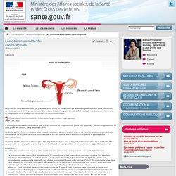 Les différentes méthodes contraceptives