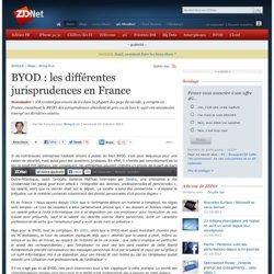 BYOD : les différentes jurisprudences en France