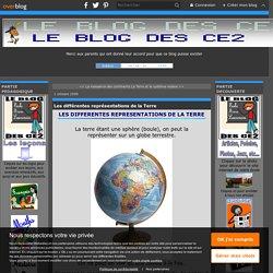 Les différentes représentations de la Terre - Le blog des CE2