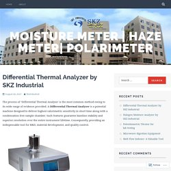 Differential Thermal Analyzer