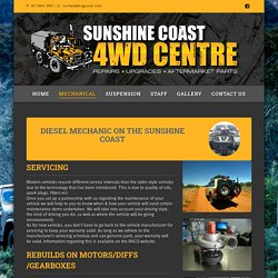 Differential Rebuild Services on the Sunshine Coast