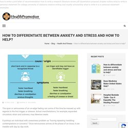 The Truth About Stress And Anxiety Medication Adverse Effects
