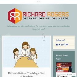 Differentiation: The Magic Tool of Teaching