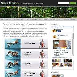 5 exercices pour raffermir les différents muscles abdominaux