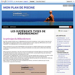 Piscine pearltrees for Plan de piscine a debordement