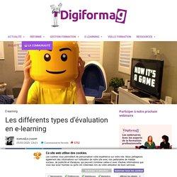 Les différents types d'évaluation en e-learning - Digiformag