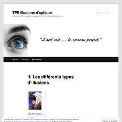 II- Les différents types d'illusions