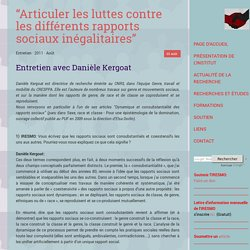"""""""Articuler les luttes contre les différents rapports sociaux inégalitaires"""""""
