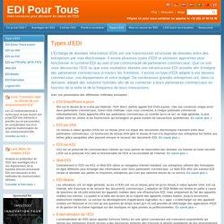 Les différents types d'EDI (Échange de données informatisés) - EDI Pour Tous