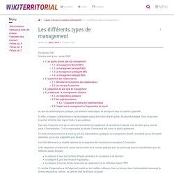 Les différents types de management (vitrine.Les différents types de management) - XWiki