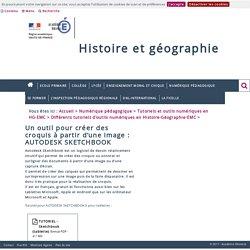 Différents tutoriels d'outils numériques en Histoire-Géographie-EMC > Un outil pour créer des croquis à partir d'une image: AUTODESK SKETCHBOOK