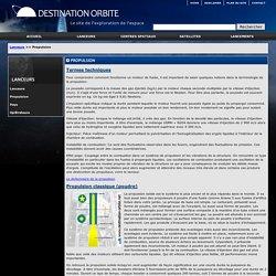 Les différents moyens de propulsion spatiale