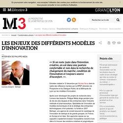 Les enjeux des différents modèles d'innovation : Millenaire 3, Transformation urbaine