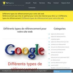 Différents types de référencement pour votre site web -