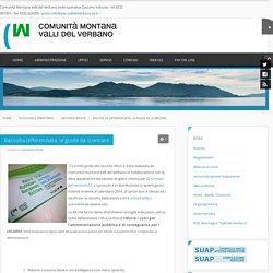Comunità Montana Valli del Verbano - Raccolta differenziata: la guida da scaricare