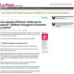 """Les appart' d'Estrosi visités par la presse: """"Difficile d'imagin"""