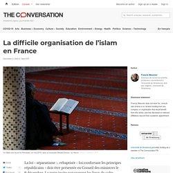 La difficile organisation del'islam enFrance