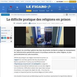 La difficile pratique des religions en prison