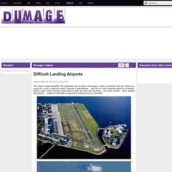 Difficult Landing Airports - Dumage