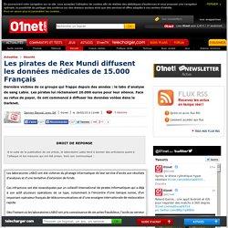 Rex Mundi, les mystérieux pirates qui extorquent des entreprises françaises. 18/03/2015