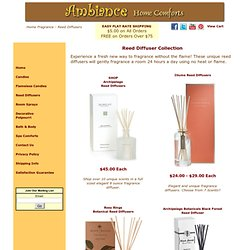 Scented Room Diffusers