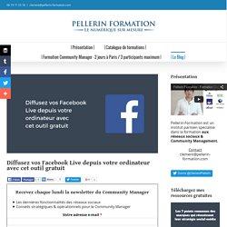 Diffusez vos Facebook Live depuis votre ordinateur avec cet outil gratuit