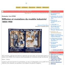 Diffusion et mutations du modèle ... - Clio-Lycée