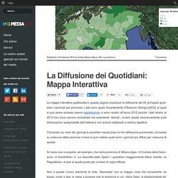 La Diffusione dei Quotidiani: Mappa Interattiva