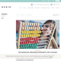 Dificultades del aprendizaje matemático más comunes - Cuadernos Rubio
