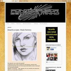 Ponto Difusor by Betto Coutinho: Desenho a Lápis - Rosto Feminino