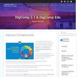 DigComp 2.1 & DigComp Edu – Laboratorio TIC 2018/2019 UniPa