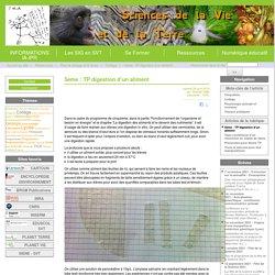 Site des Sciences de la Vie et de la Terre de l'Académie de Limoges