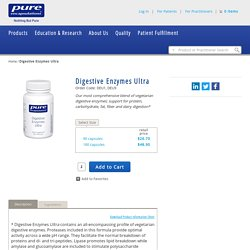Digestive Enzymes Ultra