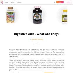 Digestive aids USA