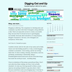 Digging Out and Up | because staying in debt isn't an option…