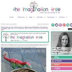 Digging for Dinosaur Bones Maths Game