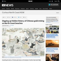 Digging up hidden history of Chinese gold mining on North Coast beaches - Curious North Coast NSW