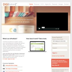 Digication e-Portfolios: Home