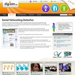 Digicentral - Social networking detective