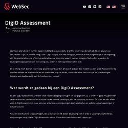 DigiD Assessment