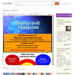 ⭐Diginatiivit oppijoina