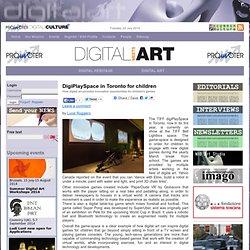 DigiPlaySpace in Toronto for children
