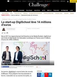 La start-up DigiSchool lève 14 millions d'euros - 11 février 2016