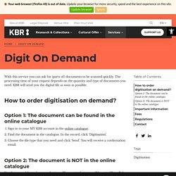 Digit On Demand