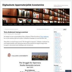 Digitaalsete õppematerjalide koostamine