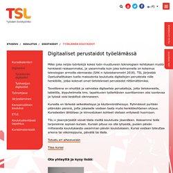 Työelämän digitaidot - Työväen Sivistysliitto TSL